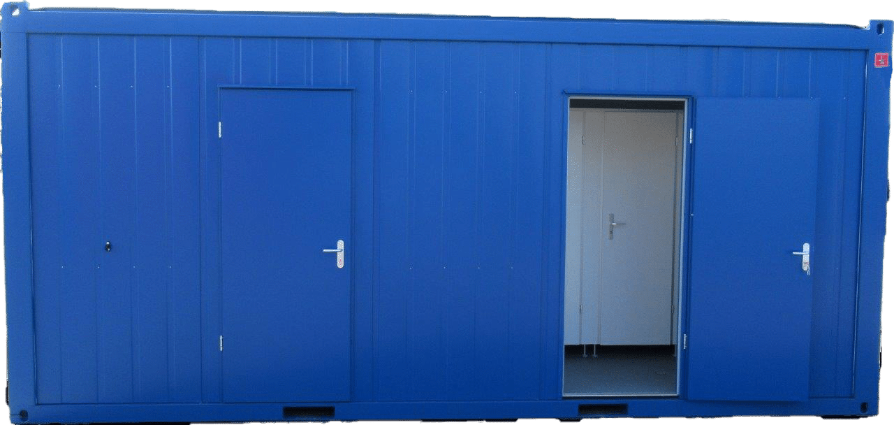 20ft sanitair container