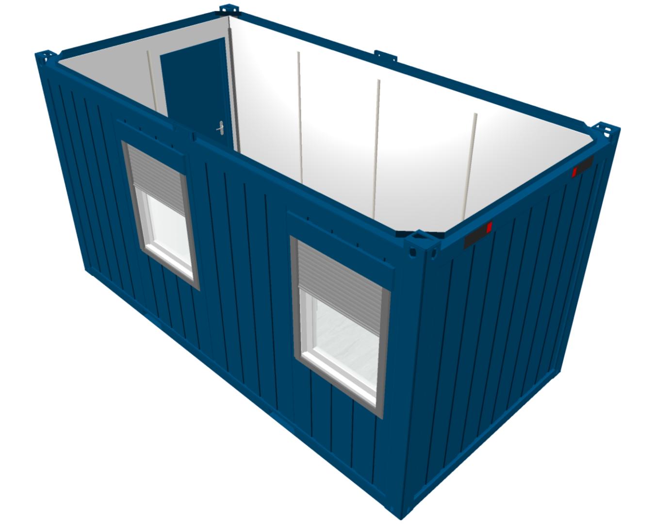 16ft accommodatie container voor verhuur