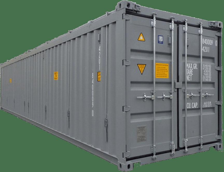 40ft Hard Top Open Top - Huur — SEDNA Containers