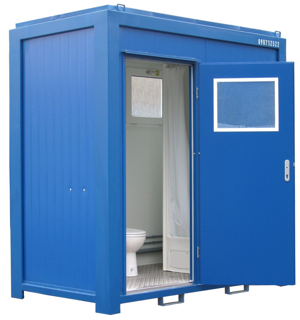 8ft toilet container