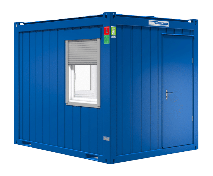 10ft accommodatie container
