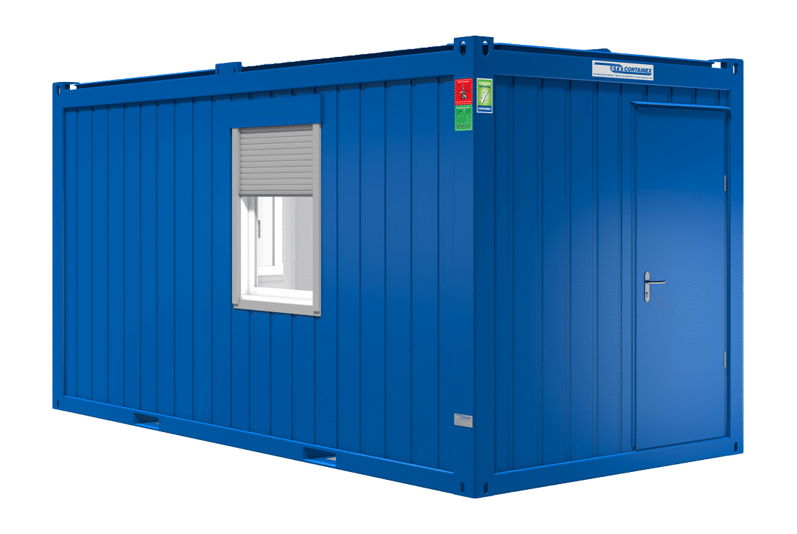 16ft accommodatie container