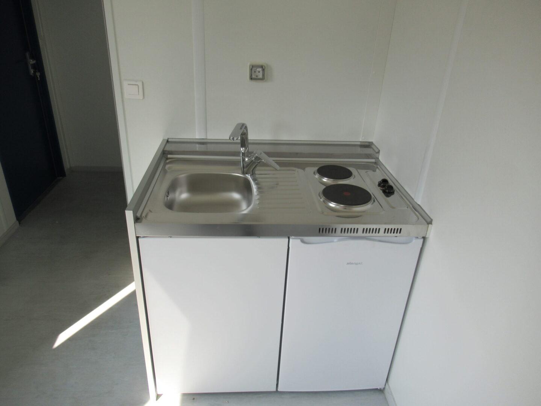 20ft accommodatie container met keuken en toilet