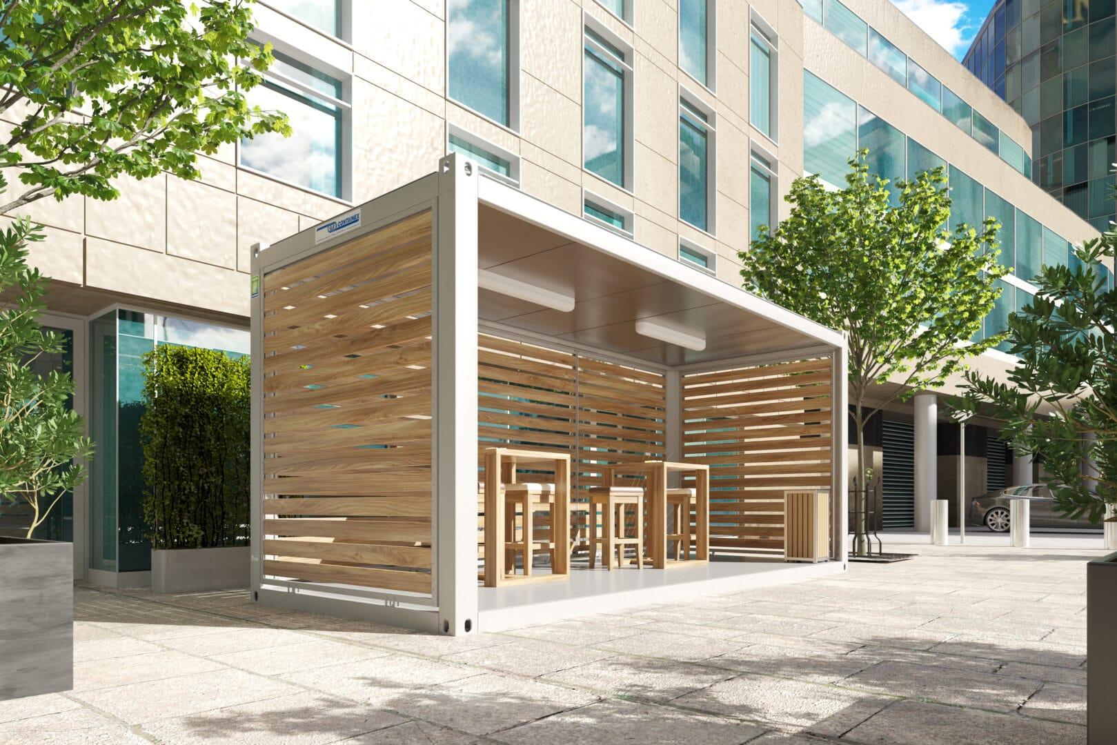 Terras_container_houten_bekleding