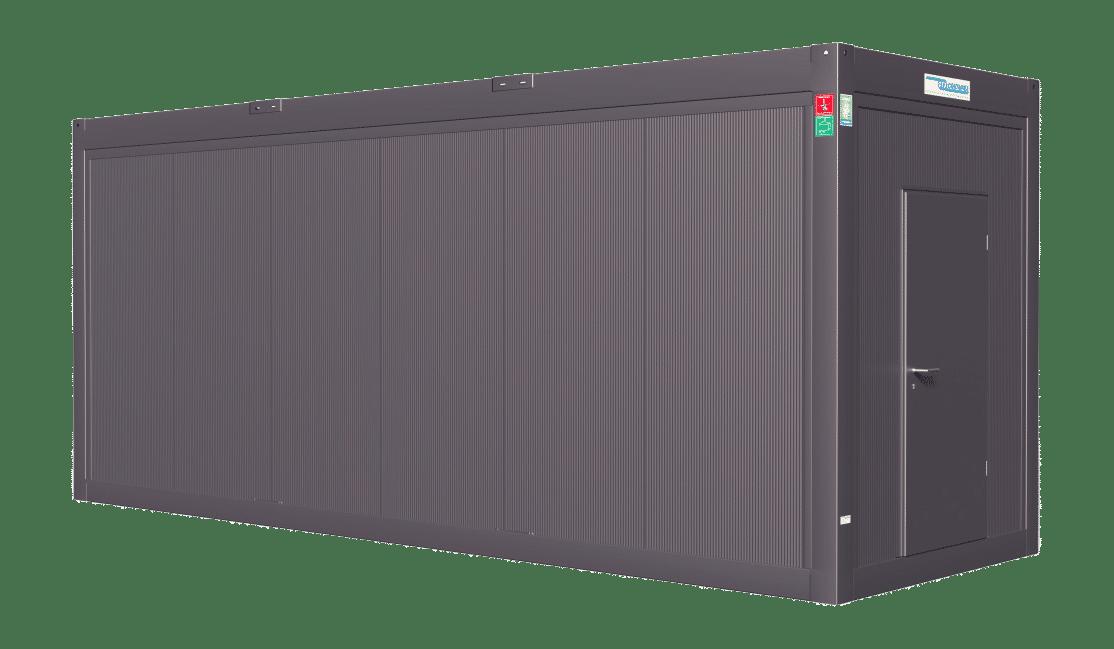 24ft AC Plus Line Container