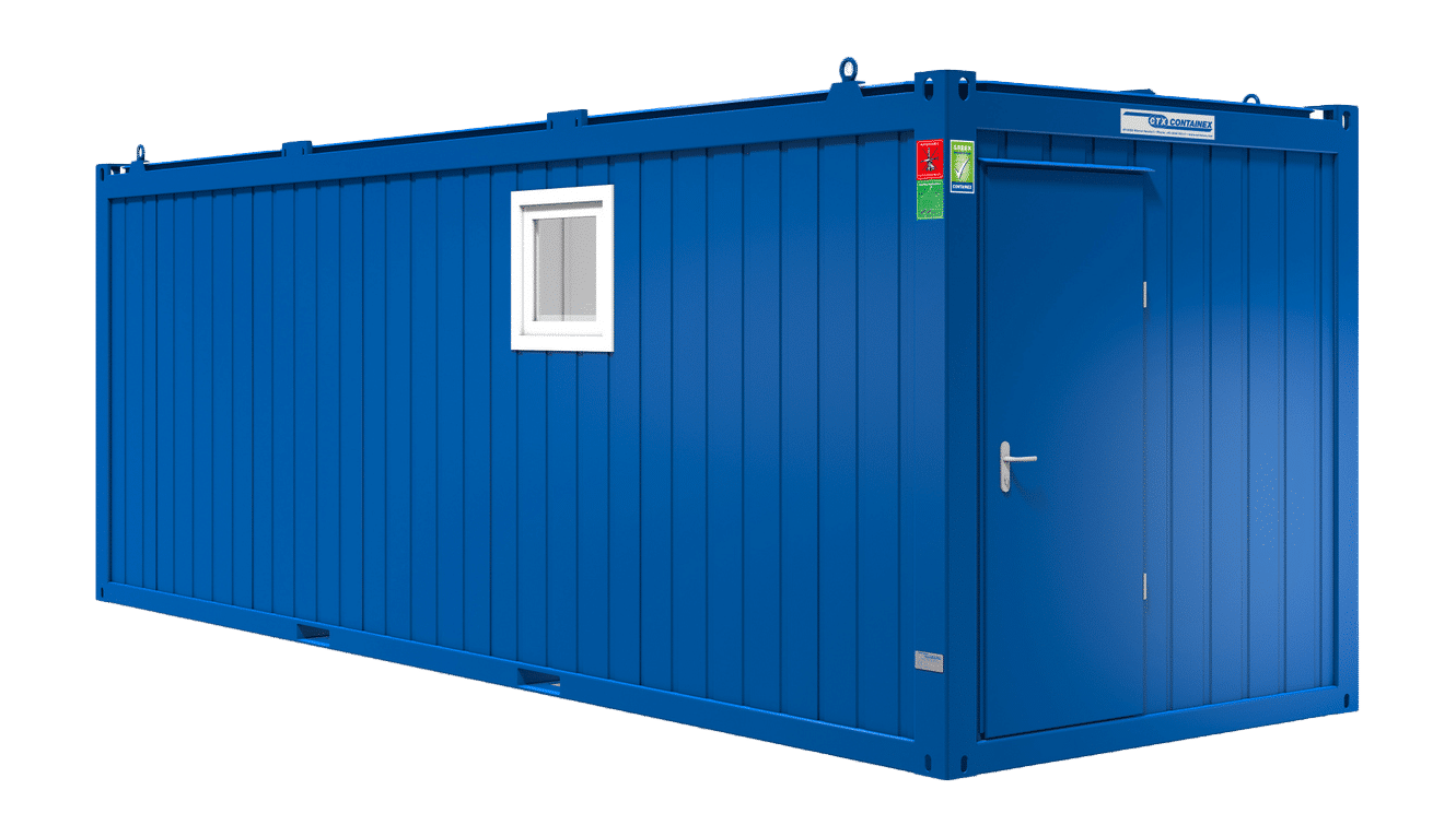 24ft sanitair container